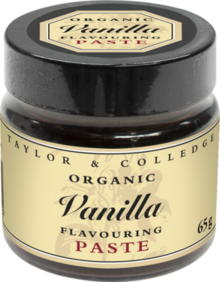 Taylor & Colledge Organic Vanilla Flavouring Paste