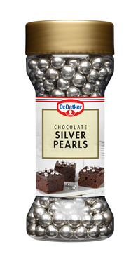 Dr. Oetker Chocolate Silver Pearls