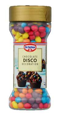 Disco Chocolate Buttons