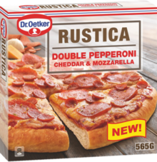 Rustica Double Pepperoni