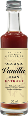 Taylor & Colledge Organic Vanilla Bean Extract